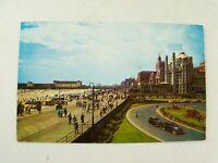 Vintage 1964 Boardwalk Beach and Hotels Atlantic City New Jersey NJ Postcard