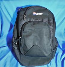 Black Gearmax Bristol Motor Speedway Heavy Canvas Backpack