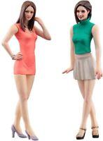 Hasegawa 1/24 Figure Collection Series Fashion Model Girls Figure Plastic M
