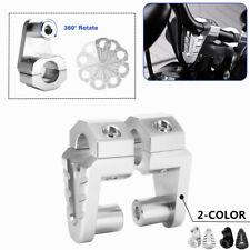 360° Rotating Motorcycle Handlebar Riser For 22mm/28mm Handlebar Aluminum Alloy