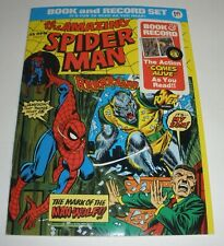 """Amazing Spider-Man"""" Mark of the Man-Wolf book and record set"""