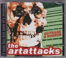 Art Attacks - Outrage & Horror CD Tagmemics Motors 999 Adverts Satan's Rats Punk