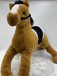 Large Plush Horse Pony Toy, 50cm Long, New
