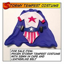 Phicen Hot Stormy Tempest Costume w/ Belt fit 1/6 12 in scale Female Figure Toys