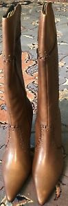 DonnaValenta Leather Boots Size 40