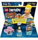 NEW, Sealed Lego Dimensions Homer Simpson Level Pack 71202 (Ships for Free)