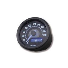Motorrad Tachometer elektrisch 60mm Daytona schwarz 361-522 4054783045716