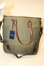 Velba Classic NEW Large Canvas Leather Business Crossbody Shoulder Bag 10-2535