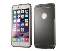 Étuis, housses et coques noir mat en métal pour téléphone mobile et assistant personnel (PDA)