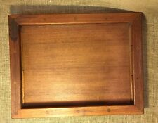 Dansk Teak Wood JHQ Jens Quistgaard Galley Rail Serving Tray Danish Modern
