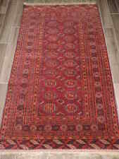 4x7ft. Vintage Royal Bokharra Wool Rug