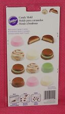 Peanut Butter Cups Chocolate Candy mold,Wilton, Clear Plastic,2115-1522,Bonbon
