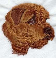 Norfolk Terrier Dog Personalized Embroidered Fleece Stadium Blanket Gift