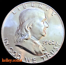 1962-D 50C Franklin Silver Half Dollar BU