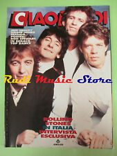 rivista CIAO 2001 29/1990 POSTER Rod Stewart Rolling Stones Jeff Healey  No cd