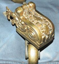 Part-4 brass feet, castor, foot caps for sofa, dining table, Neoclassical, c1800
