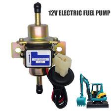 12V Pompa Elettrica Carburante Universale Benzina Gasolio bassa Pressione ORO IT