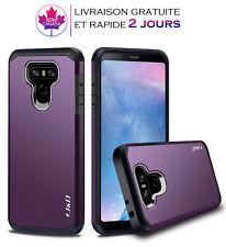 Coque,étui pour LG G6 Housse double couche,robuste résistant aux chocs Purple