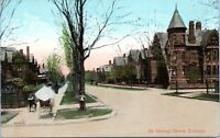 1909 Toronto St George Street View Ontario Canada Postcard CW