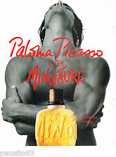 PUBLICITE ADVERTISING 065  1994  MINOTAURE parfum homme PALOMA PICASSO