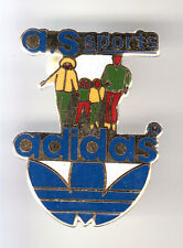 RARE PINS PIN'S .. SPORT CHAUSSURE SHOES A.S OLYMPIQUE OLYMPIC ADIDAS FRANCE ~B7