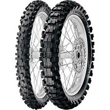 Pirelli Scorpion MX tire set front and rear 2.50x10 and 2.75x10 PW50 CRF50 KTM