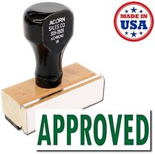 Acorn Sales - Large Approved Rubber Stamp