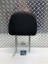 10-14 DODGE AVENGER CHRYSLER 200 FRONT SEAT ACTIVE HEADREST BLACK & RED CLOTH OE