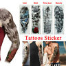 Men Women Arm Tattoo Temporary Tattoos Sticker Fake Body Tatoo Art Waterproof 3D
