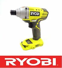 "RYOBI 18 V 18 VOLT LITHIUM 1/4"" INCH IMPACT DRIVER BARE TOOL P235 = P234G"