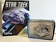 STAR TREK Jem'hadar Fighter Deep Space 9, Special Issue w/Magazine in Box