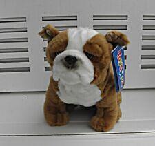 "Toys ""R"" Us English Bulldog Plush New Old Stock with tag. Stuffed toy dog"
