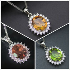 Diana color change diaspore 925 sterling silver pendant necklace for women gift