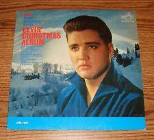 Elvis' Christmas Album Monaural LPM-1951 Rare Hard To Find 1964 Pressing