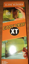 As Seen On TV Easy View XT Anti-Glare Blocker Universal Fit Automobile Sun Visor
