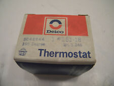 NOS Delco 195 Degree Thermostat 131-18 Gr. 1.246 3046544 (AMC/Ford/Bu/Pont/Chev)
