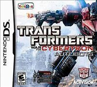 Transformers: War for Cybertron - Autobots (Nintendo DS, 2010) DS NEW