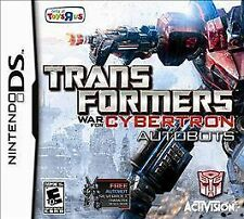 Transformers: War for Cybertron - Autobots (Nintendo DS, 2010) *New,sealed*