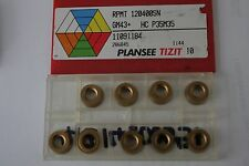 PLANSEE TIZIT CARBURO INSERTAR-Rpmt 120400SN (GM43+) 9 Insertos