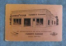 Vintage Farmers Garage Playing card deck Goodyear Dodge Nebraska complete 52+2J