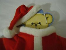 🎅NEW SANTA SUIT TOP JACKET & CAP / HAT FOR A TEDDY BEAR Sz. Med. FREE SHIPPING