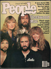 FLEETWOOD MAC on Cover of Magazine; June 1977 People: 'Sagas and Heartbreaks'