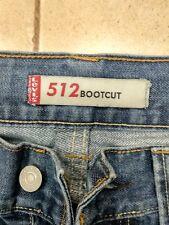 Levi's 512 preciosos jeans azul W31 L32 o L30 bootcut vintage (507.527) @8B