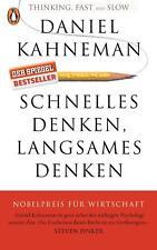 Schnelles Denken, langsames Denken von Daniel Kahneman (Taschenbuch)