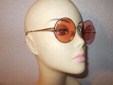 Ray-Ban RB 1970 Oval 001/3E Gold Frame Rose Glass Lenses Sunglasses