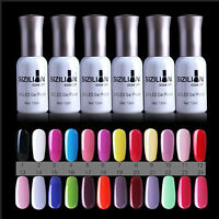 15ml 24 Farben Soak Off Crackle UV Nagellack Nail Gel Polish Nagelgel Farbgel-_