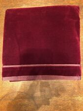 NEW Ralph Lauren Greenwich Modern Burgundy Red Velvet EURO SHAM 26""