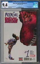 Moon Girl and Devil Dinosaur #1, CGC 9.4, 1st Appearance of Moon Girl, MCU Comic