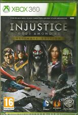 XBOX 360 - INJUSTICE GODS AMONG US Ultimate Edition version Française pal NEUF