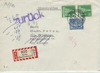 German Postal History Stamps Cover Ref: R4714